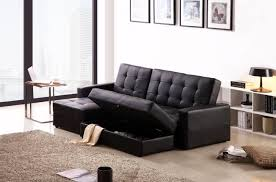 sofa inspiring leather sofa bed design black couch bed small