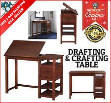 Vintage Wood Drafting Table Vintage Drafting Table Adjustable Art Work Drawing Wood Desk Board