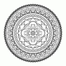 print free mandala coloring pages coloring home