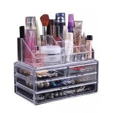 Makeup Box acrylic jewelry makeup box transparent shopping in pakistan