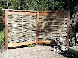 Garden Privacy Ideas Outdoor Bamboo Screen Fence Panels Best Garden Privacy Ideas On