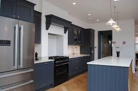 navy blue and grey kitchen ideas modern shaker kitchen in grey blue modern kitchen