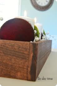 Christmas Dinner Centerpieces - diy christmas decor