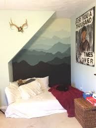www apartmenttherapy com mountain mural inspired by pam s project found at http www