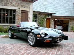 1973 jaguar xke saw one in lavender on lavender at a kruse