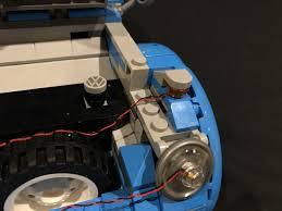 lego volkswagen inside light my bricks volkswagen beetle led lighting kit