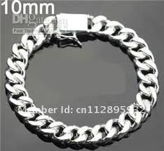 bracelet silver price images 10mm 8inch 925 sterling silver bracelet men 39 s curb chain silver jpg
