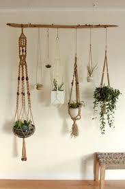 amazing wall hanging pots nz diy wooden wall planter design decor