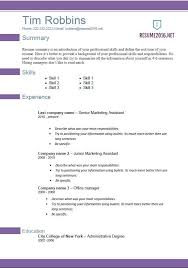 Official Resume Resume Templates Office 2010 Microsoft Resume Template Word 2010