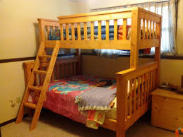 Wood Bunk Bed Plans by Bunk Beds Extra Long Bunk Beds For Adults Twin Over Queen Bunk