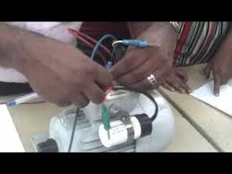 single phase motor connection demonstration by niranjan youtube