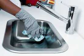 how to clean a kitchen sink how to clean kitchen sink like a professional uncle paul s kitchen