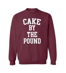 cake by the pound white crewneck u2013 awkwardstyles