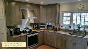 grey stained shaker kitchen cabinets new kitchen cabinet colors and driftwood grey stains 2018