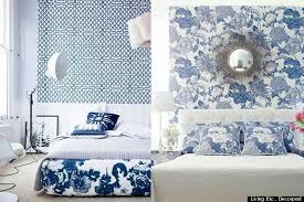 blue and white rooms color diary decorating blue and white rooms video huffpost