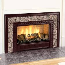 living room enchanting brown granite fireplace inserts with