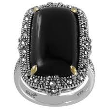 black gemstone rings images Buy gemstone rings online at our best rings deals jpg