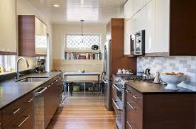 Galley Kitchen Ideas Pictures Flooring Galley Kitchen Ideas In Modern Kitchen With Metal