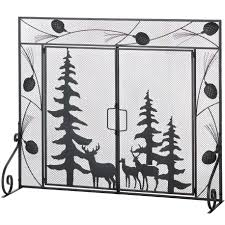 Baby Proof Fireplace Screen by Amagabeli 3 Panel Wrought Iron Fireplace Screen Baby Safe Proof
