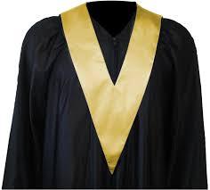 graduation apparel graduation gown student tie in colour gold square caps