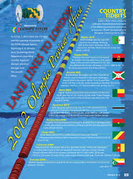 lane lines to london africa federation by swimming world magazine