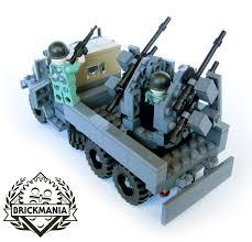 lego army vehicles vietnam war era m35a2 gun truck kits shipping february 10th