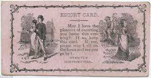 Laid Business Cards The U0027flirtation Cards U0027 19th Century Men Used To Woo Ladies Daily