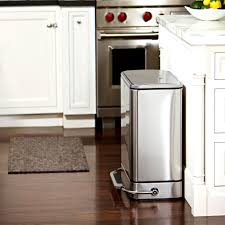 kitchen marvellous stainless steel trash can kitchen ideas bin