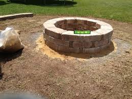 Rumblestone Fire Pit Insert by Home Depot Stone Fire Pit Fire Pit Ideas