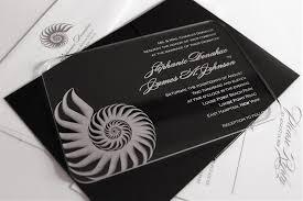 acrylic wedding invitations acrylify invitations new york ny weddingwire