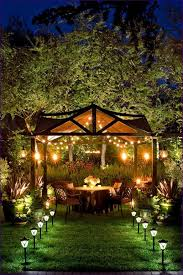Stringing Lights In Backyard by Outdoor Ideas Led Patio Lanterns Outdoor Landscape Lighting