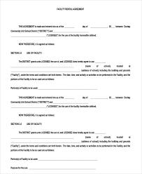 free rental lease agreement download blank rental agreement u2013 9 free word pdf documents download