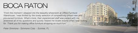 Office Furniture Warehouse Pompano by New And Used Office Furniture In Boca Raton Delray Beach And