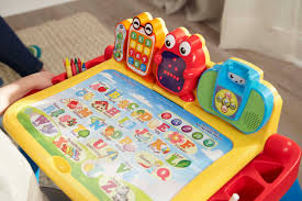 vtech table touch and learn expandable three in one touch learn activity desk deluxe from