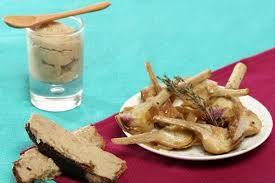 comment cuisiner les artichauts recette de artichaut barigoule crostini à la crème d artichauts