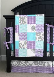 Purple And Teal Crib Bedding Reserved For Lindsay Lavender Crib Bedding Baby Bedding Set