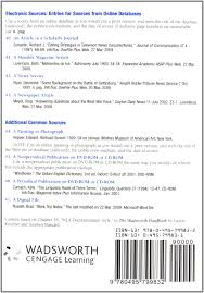 lexisnexis web services the wadsworth essential reference card to the mla handbook for