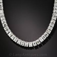 diamonds necklace images 44 carat carr cut diamond riviere necklace jpg