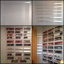growing wall of polish diy nail polish rack diary of a nail