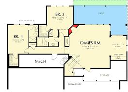 prairie style home floor plans modern prairie style home plan 6966am architectural designs