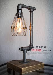 Edison Table Lamp Aliexpress Com Buy Nordic Loft Vintage Industrial Water Pipe