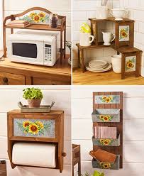 kitchen collections appliances small galvanized sunflower kitchen collection the lakeside collection