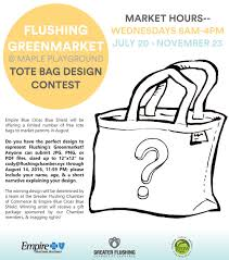 Bag Design Maple Playground Greenmarket Tote Bag Design Contest Greater