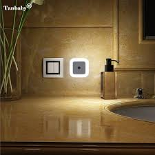 automatic night light with sensor tanbaby 1pcs eu us plug smart sensor led night light l induction