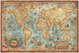 modern world antique map fototapeter u0026 tapeter photowall