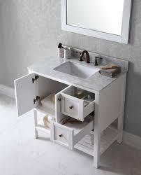 35 Bathroom Vanity Virtu Usa Winterfell 35 Bathroom Vanity Base Reviews Wayfair