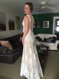 sell used wedding dress watters francine gown size 6 wedding dress oncewed