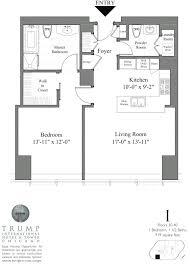 trump tower chicago 401 n wabash floor plans views floorplan