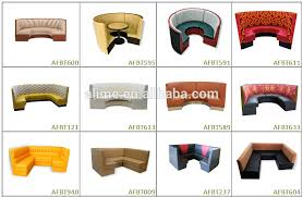 Banquette Seating Fixed Bench Fixed Alime U Shape Restaurant Booth Seating Sofa Bench View Restaurant
