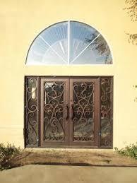custom wrought iron entry doors fresno clovis madera california